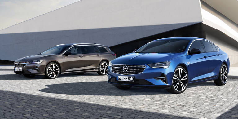 Opel verpasst dem Insignia ein Facelift