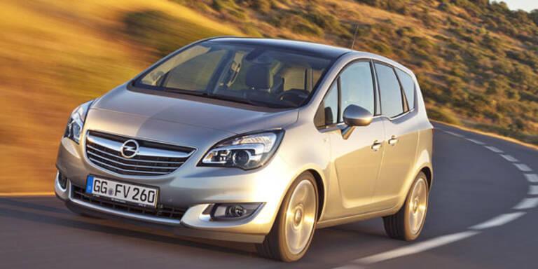 Mini-Facelift für den Opel Meriva