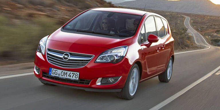 """Der """"neue"""" Opel Meriva im Fahrbericht"""