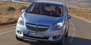 Opel Meriva startet mit 95 PS Diesel