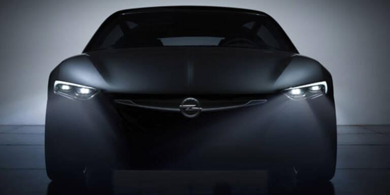 Opel zeigt neue Super-Scheinwerfer