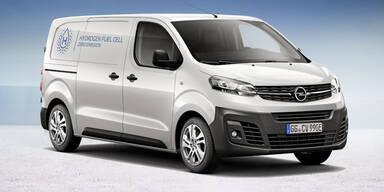 Opel startet Kleinserie mit Brennstoffzellen-Autos