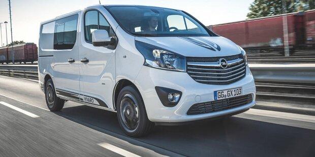 Opel bringt jetzt den Vivaro Sport