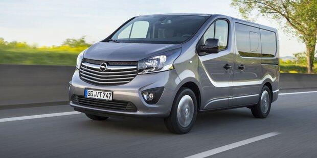 Opel bringt zwei neue Vivaro-Modelle