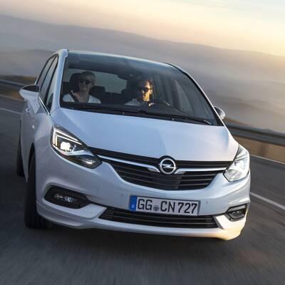 Facelift für den Opel Zafira (2016)
