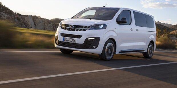 Opel macht Zafira zum VW-Bulli-Gegner