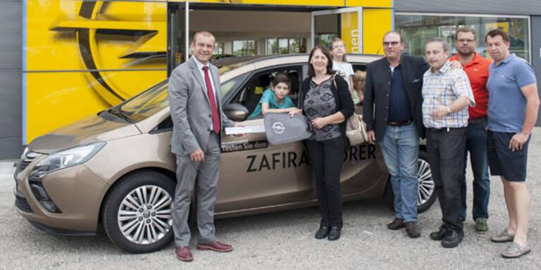 Neuer Opel für Hinterbliebene