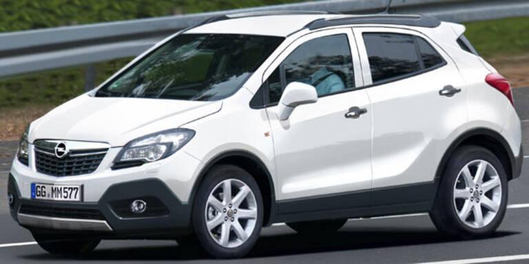 Opels Mini-SUV auf Corsa-Basis heißt Mokka