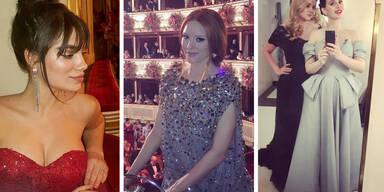 Die besten Star-Instagrams vom Opernball