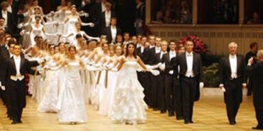 Opernball 2008: Die Eröffnung