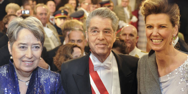 Opernball 2010, Bundespräsident Heinz Fischer