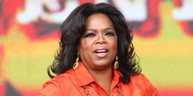 Oprah Winfrey ist die Gagen-Queen