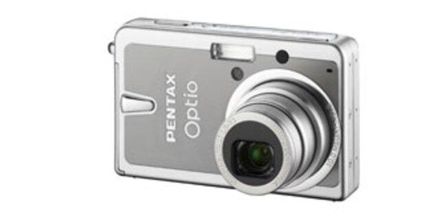 Pentax bringt günstige 10-Megapixel-Cam