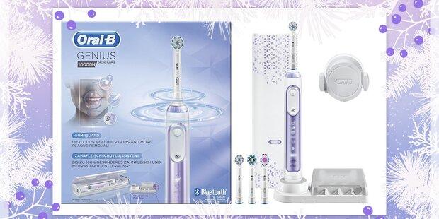 Glänzende Weihnachten mit Oral-B GENIUS