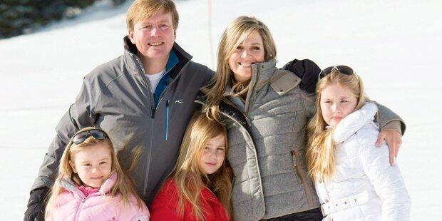 Hollands Royals auf Ski-Urlaub in Lech