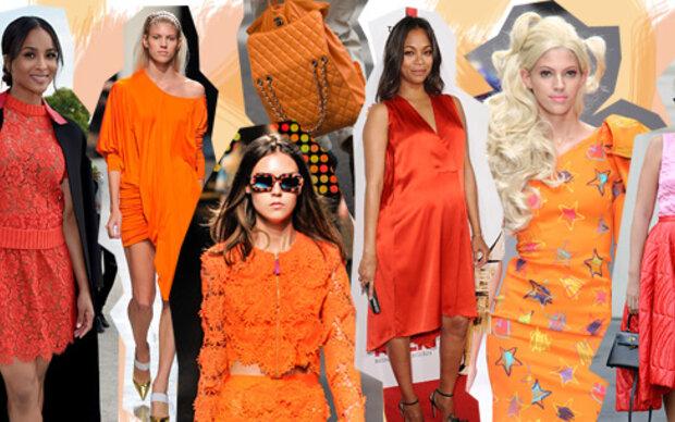 Warum jede Frau Orange tragen kann (und sollte!)