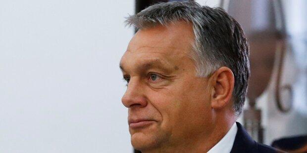 Orban lobt gewaltsamen Protest gegen Flüchtlinge