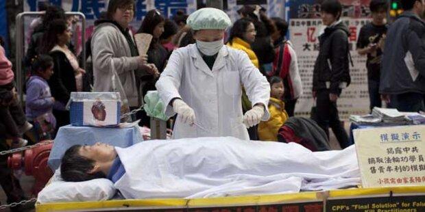 VIDEO China: Staatlicher Organschacher enthüllt