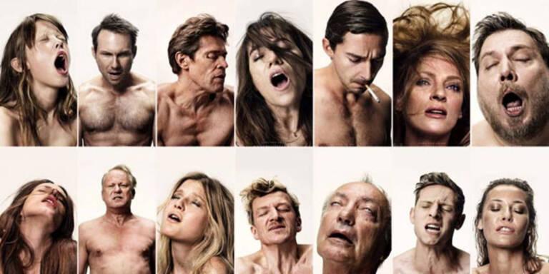 Hollywood-Stars zeigen ihr Orgasmus-Gesicht