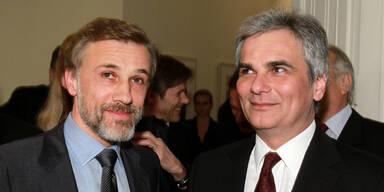 Oscar-Empfang für Waltz, Haneke und Berger in Wien
