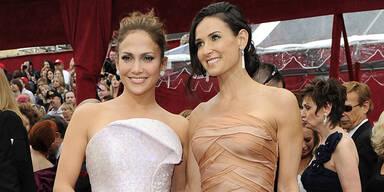 Oscar-Roben 2010 - Jennifer Lopez und Demi Moore