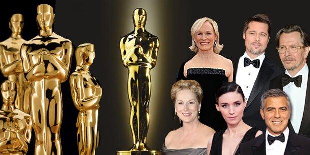 Das sind die Oscar-Anwärter 2012