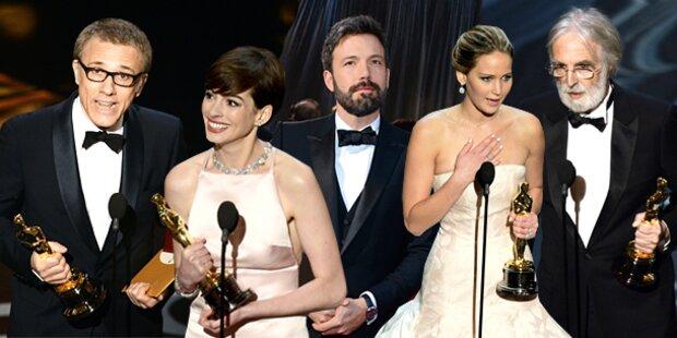 Oscars 2013: Haneke und Waltz triumphierten