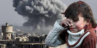 Ost-Ghouta Kinder