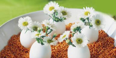 Oster-Bastel-Tipp: Eier-Vasen
