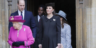Ostergottesdienst Royals