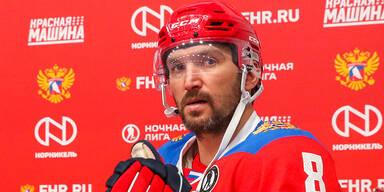 NHL-Star Owetschkin bleibt bei den Capitals