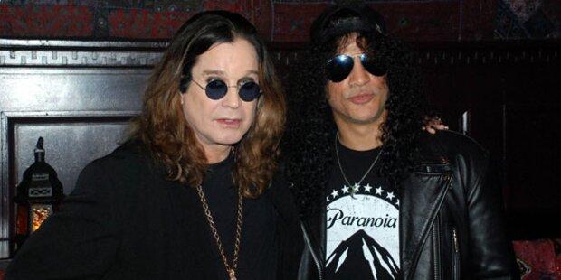 Ozzy Osbourne bringt Slash mit nach Wien