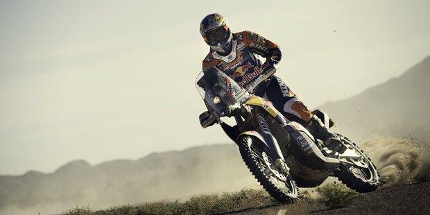 Rallye Dakar beginnt