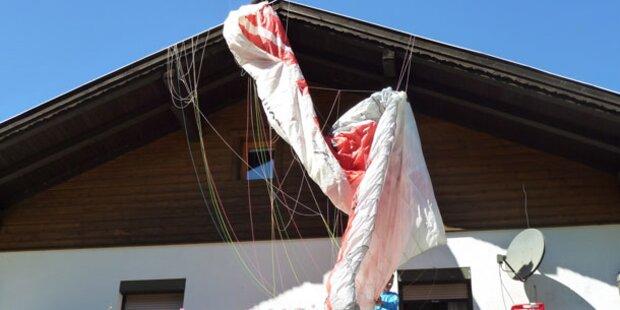 Paragleit-Bruchpilot flog aus dem Verein