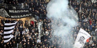 Angst vor griechischen Hooligans