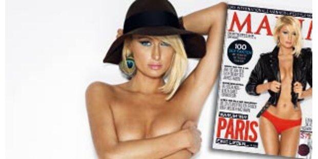 Paris Hilton lässt in MAXIM die Hüllen fallen