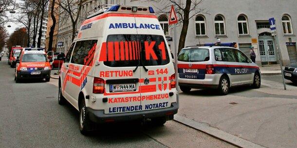 Dramatischer Rettungseinsatz in Wieden