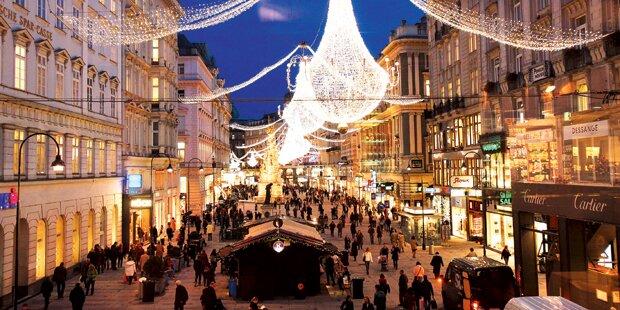 Ab heute leuchtet Wien – es weihnachtet wieder