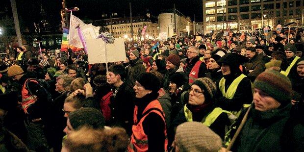 Pegida lässt in Wien auch Kinder marschieren