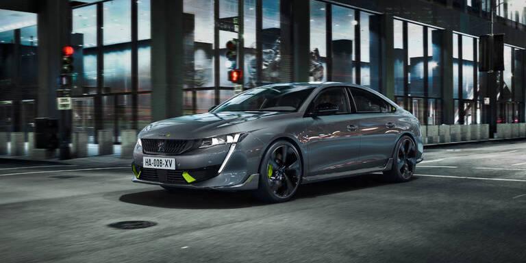 Peugeot 508 Plug-in-Hybrid wird zum Sportler