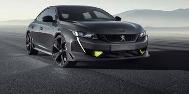 Peugeot stellt neuen 508 mit 400 PS vor