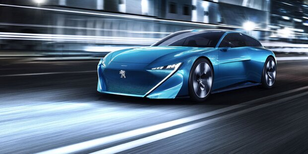 Peugeot-Studie gibt Blick in die Zukunft