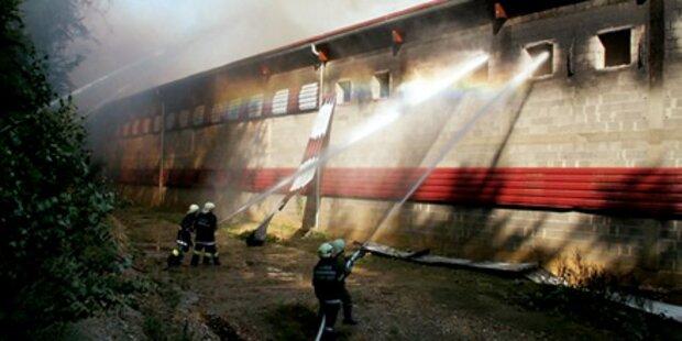 Tage nach Großbrand in Bad Waltersdorf