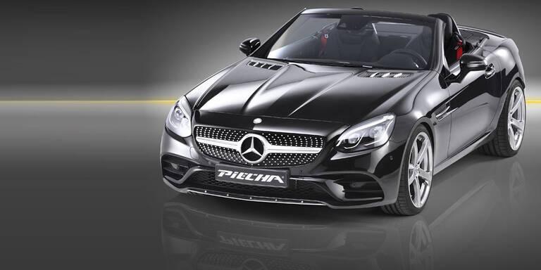 Sportlicher Look für den Mercedes SLC