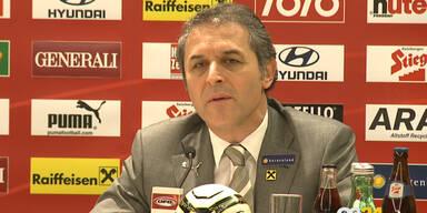 Koller stellt Teamkader für Wales-Spiel vor