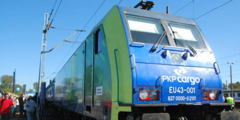 Moderne Lok der PKP Cargo