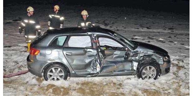 Seniorenpaar wurde bei Crash verletzt