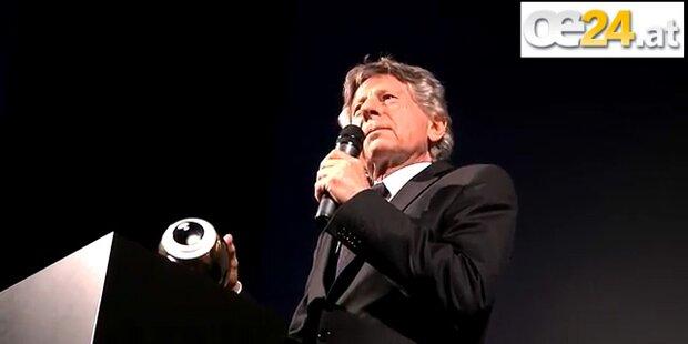 Zwei Jahre nach Festnahme Filmpreis für Polanski