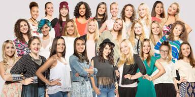 Popstars: Das sind die 27 Kandidatinnen