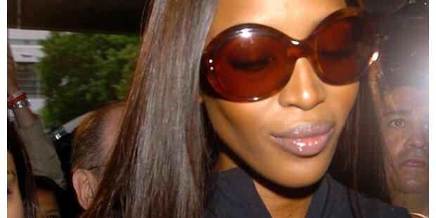 Wutprobe für Naomi Campbell